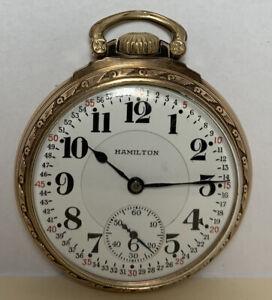Hamilton 992 Pocket Watch - 1924 - 21J - 16S - #1743807 - No Reserve