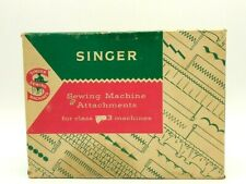 Vintage Singer 503 Sewing Machine Attachments with Special Slant-O-Matic Manual