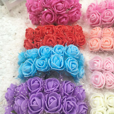 Flower Wedding Home Silk Rose Decor Artificial Bouquet Party Fake Bridal Decorat