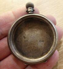 Solid Silver Pocket Watch Case Dennison Watch Case A.L.D Antique