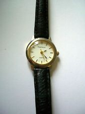 Philip Mercier mens quartz black strap watch working new battery
