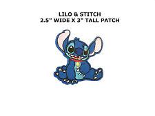 Lilo Stitch Patch Iron on Retro Boho Kids Cartoon Sew Badge Disney Animation.