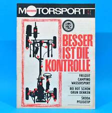 DDR Illustrierter Motorsport IMS 9/1968 Austin 3 Skoda 1000 MB DAF 44 Röderaue U