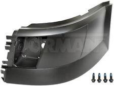 04-14 VOLVO VNL FRONT LH DRIVER SIDE LEFT BUMPER END CAP WITH FOG HOLES 242-5555
