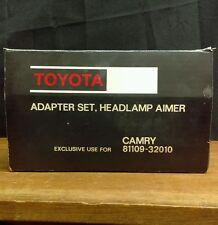 NOS Genuine Toyota Camry Adapter Set Headlamp Aimer Set 81109-32010