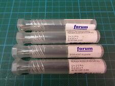 4 x FORUM Maschinenreibahle DIN212 R-N; Ø6,00; H7; HSS-E; NEU & OVP