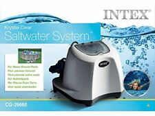 New INTEX SALT WATER Chlorinator System Krystal Clear above ground pool CG26668