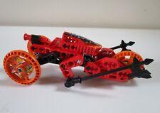 Lego BIONICLE set 8510 'LAVA' ROBORIDER, almost complete, no box or instructions