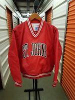 Vintage 80's 90's NCAA St Johns Storm Throwback Pullover Jacket MINT! Sz Medium!