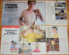 JOSELITO lote prensa 1980s/90s spanish clippings Toros Torero Bullfighter photos