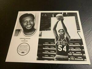 1975 Detroit Pistons Howard Porter Basketball Team Issue Villanova