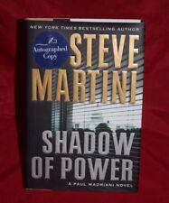 SIGNED  Shadow of Power - paul madriani   Steve Martini ,HC/DJ,mystery,thriller
