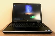 Dell Latitude E6540 Intel Quad-CORE i7-4800MQ 8GB RAM 500 GB DVD WIN 10 PRO