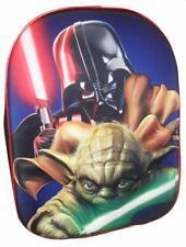 Star Wars Yoda 3D EVA sac à dos enfants Pépinière ecole sac de vacances Officiel