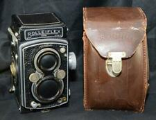Rolleiflex Automat Model 2 TLR Camera Zeiss Jena 75mm Lens Rolleicord w/ Sync