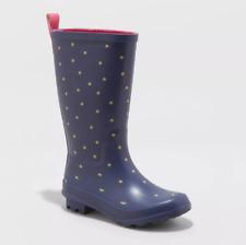 Girls' Rain Alina Boots Navy Stars - Cat & Jack