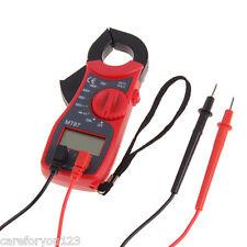 LCD Digital Voltmeter Ammeter Ohmmeter Clamp Multimeter Volt AC DC Tester Meter