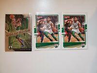 2020-2021 Panini Jayson Tatum 3 Card Lot Boston Celtics