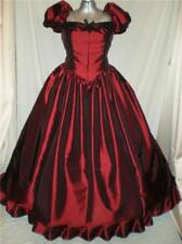 "Southern Belle Civil War SASS Nutcracker Old West Ball Gown Dress 42"" Bust"