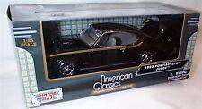 1969 Pontiac GTO Judge in Black 1-24 Scale Model New in box