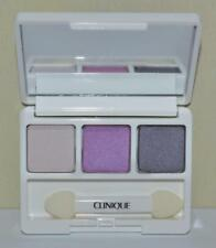 CLINIQUE Graphite/Pearly Pink/Seashell Pink/Fawn Satin Eyeshadow TRIO ~ GWP Size