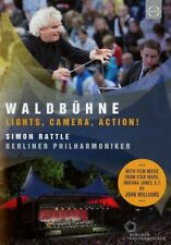 SIMON/BP RATTLE - WALDBÜHNE BERLIN-LIGHTS,CAMERA,ACTION! DVD NEW+ KORNGOLD/ROSZA