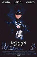 BATMAN RETURNS Michael Keaton / Danny Devito / Michelle Pfeiffer DVD R4