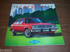 MINT 1982 CHEVROLET CHEVY CHEVETTE 15 PAGE DEALER SALES BROCHURE