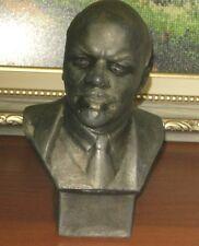 SOVIET BUST OF V.I. LENIN made of NONFERROUS METAL- author's work of Gevorkyan
