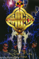 LOT OF 2 POSTERS : MUSIC : JODECI  1995 - THE SHOW -  FREE SHIP   #8245   LW24 S