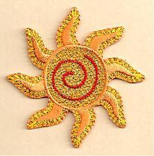 Sun - Summer - Heat - Solar - Beach - Embroidered Iron On Applique Patch