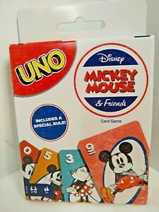 Disney Mickey Mouse & Friends UNO Card game 7+  2 + players   New