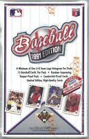 1991 Upper Deck Baseball Low Box 36 Packs Get a PSA 10 Jordan or Nolan Ryan Auto