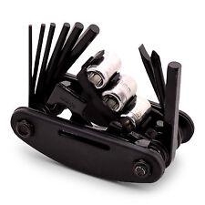 Multitool Multifunktionswerkzeug 15-teilig fürs Fahrrad Werkzeug Reperarturset