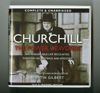 Churchill: The Power of Words -  Unabridged Audiobook - 14CDs