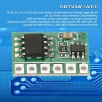 6A DC 3V 3.3V 3.7V 5V Electronic Switch Latch Bistable Self-locking Trigger Boar
