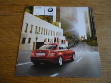 BMW 1 Series COUPE listino prezzi di vendita opuscolo a settembre 2007