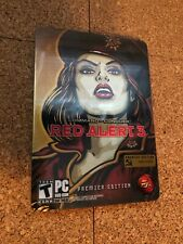 COMMAND & CONQUER RED ALERT 3 :PREMIER EDITION PC DISC'S+FREE SHIPPING 🔥