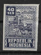 Ned. Indie Repoeblik Indonesia Java- Madoera Zonnebloem 33A