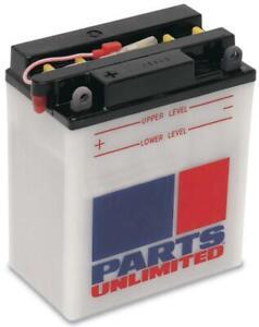 Parts Unlimited - LEMM224LA - 12V Heavy Duty Battery, YB4L-A