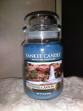 Yankee Candle Waterfall Canyon Large Jar - 22 oz - Classic Label - NWT