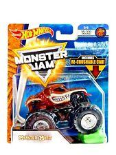 Monster Mutt Monster Jam Truck (Re-Crushable Car)(Hot Wheels)(2017)