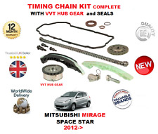 FOR MITSUBISHI MIRAGE SPACE STAR 1.6 2012-> TIMING CHAIN KIT WITH VVT HUB GEAR