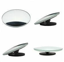 2pcs 360° Universal Car Rearside View Blind Spot Mirror Wide Angle Convex Mirror