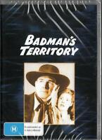 BADMAN'S TERRITORY - RANDOLPH SCOTT -  NEW & SEALED DVD FREE LOCAL POST