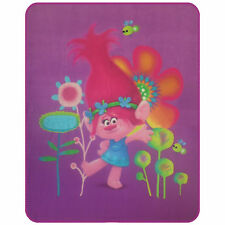 Trolls Poppy Fleecedecke Kuscheldecke 110 x 140 cm