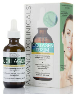 Advanced Clinicals Collagen Instant Plumping Serum 1.75 Fl Oz (52mL)