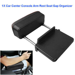 1PC Car Center Console Armrest Elbow Support Adjustable Auto Seat Side Organizer