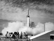 V-2 Rocket Launch, 1950, almost 400km height test   Photo Reproduction