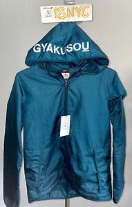 NWT NIKE GYAKUSOU x Undercover Teal REFLECTIVE 3M Hooded Jacket (603894 311) szM